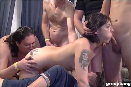 Gruppenszex - Bonita De Sax gangbang